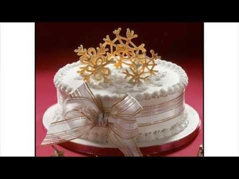 Icing A Christmas Cake