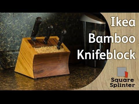 Ikea Bamboo Knife block – Steam bent Hardwood Panel