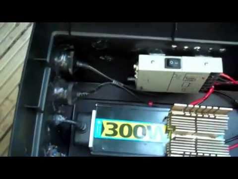 Solar powered portable battery box - generator PROTOTYPE