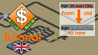 Vehicle auto-renewal/auto-replacement ♻ OpenTTD Tutorial [EN]