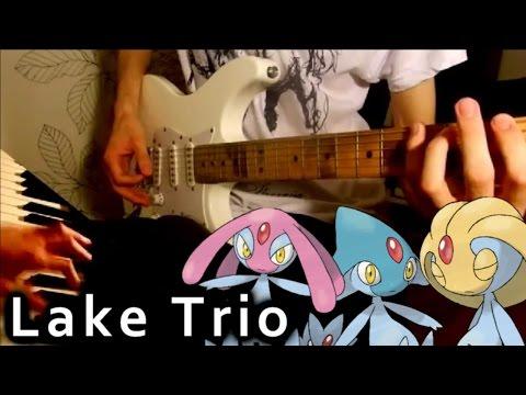 Pokemon Diamond / Pearl - Lake Trio Metal Guitar Cover ( Azelf / Uxie / Mesprit )