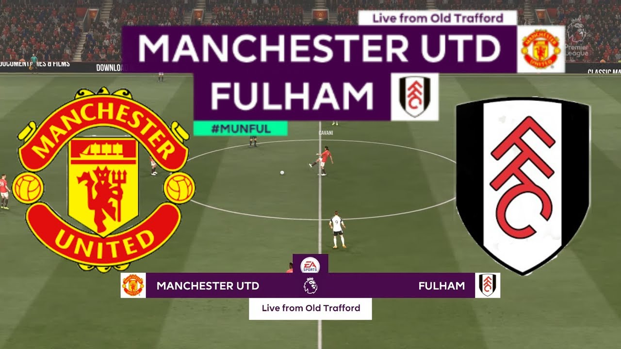 FIFA 21 | Manchester United vs Fulham | Premier League 2020/21 | Matchday 37 | Full Gameplay