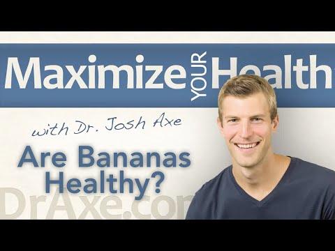 Are Bananas Healthy - Should You Be Eating Bananas