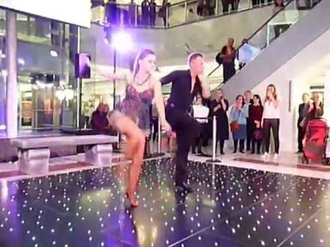 Ola and James Jordan at the Brent Cross Lala Land Shopping Event 28/09/17