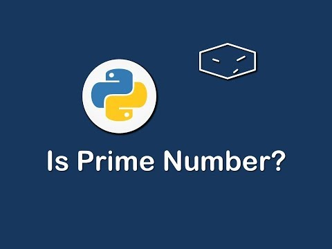 is prime number in python