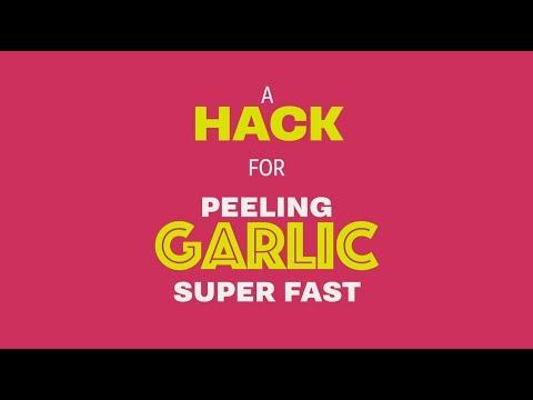 How to Peel Garlic in Bulk Super Fast