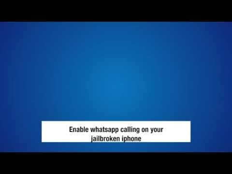 Enable whatsapp voice calls on iOS device with cydia jailbreak