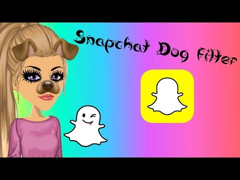 MSP Edit // How To // Snapchat Dog Filter ❤️