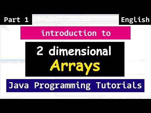 Two Dimensional ( 2 D ) Array with Example | Java Tutorial for Beginners