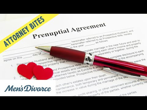 What Prenups Can And Cannot Cover — Attorney Bites