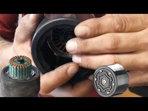 How to replace the rear wheels on your KooWheel Electric Skateboard hubmotor urethane swap