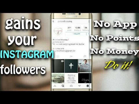 [HINDI] Gains instagram followers without using any app for free