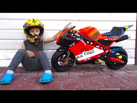 Funny BABY Unboxing And Assembling The Pocker Bike mini moto - mini Bike