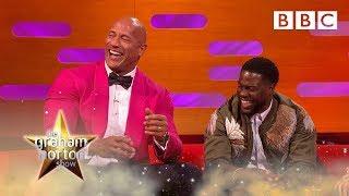 Dwayne 'The Rock' Johnson shreds Kevin Hart!   The Graham Norton Show - BBC