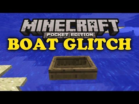✔ Boat Minecart Glitch - Minecraft PE