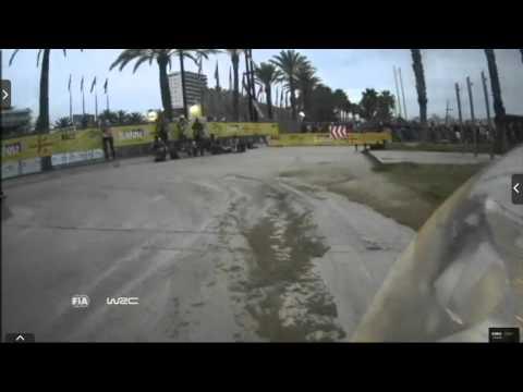 Onboard Kubica rally Catalunya-costa Daurada ss17 2015