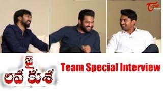 Jai Lava Kusa Team Special Interview | Jr NTR | Kalyan Ram