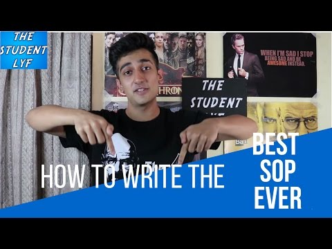 How to write the best Statement of purpose (SOP) for Undergrad/Postgrad Education in US