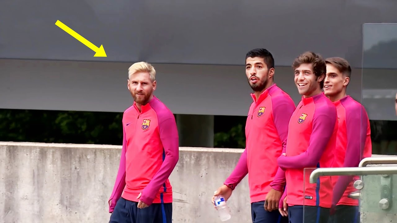 Funny Moments in Training #2 Neymar, Messi, Mbappe