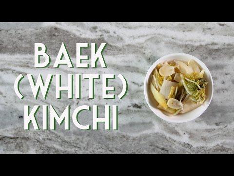 WHITE/BAEK KIMCHI • Easy Recipe