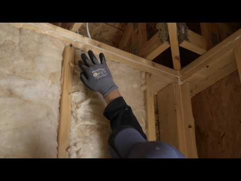 The Right Way to Insulate Sidewalls and Unheated Areas with Batts - Spanish