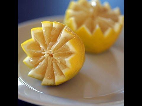 How To Vandyke Cut A Lemon/Orange/Lime