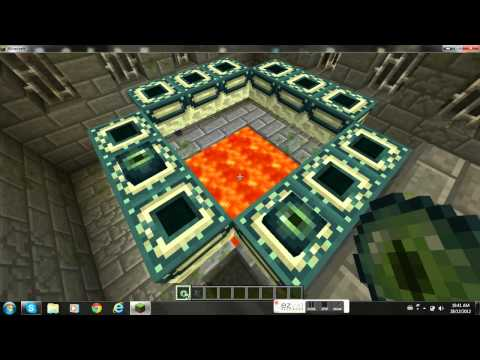 Minecraft how to get out of the end