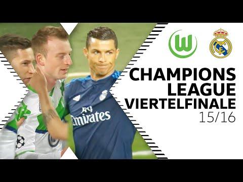 Wölfe besiegen Ronaldo, Bale & Co.   VfL Wolfsburg - Real Madrid 2:0   CL-Viertelfinale 15/16