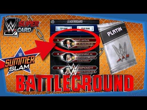 WTF?! Rang 1 in TBG Bestenliste!?!? - WWE Supercard