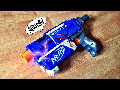[TUTORIAL] How to fix or repair a broken / jammed Nerf Retaliator