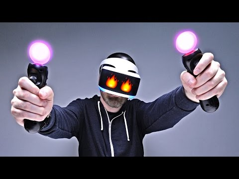 PlayStation VR Unboxing + Demo