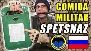 Probando COMIDA MILITAR de SPETSNAZ FUERZAS ESPECIALES de RUSIA | MRE RUSIA ALTA MONTAÑA 24 Horas