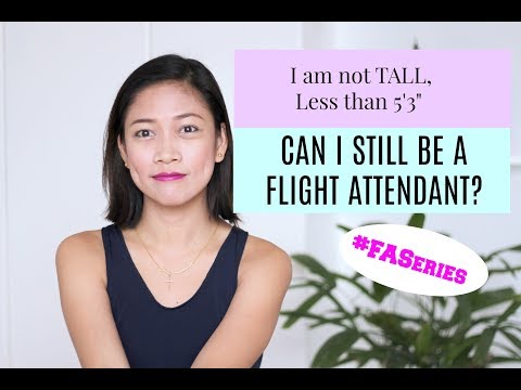 My height is Short, Can I still be a Flight Attendant? |MISSKAYKRIZZ (Philippines)