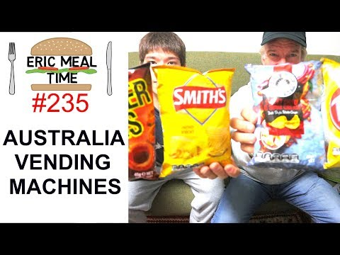 Australia Vending Machines - Eric Meal Time #235