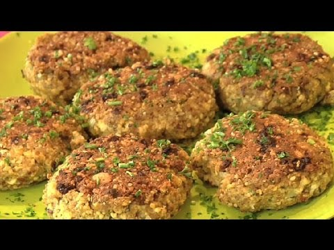 Old-Fashioned Vegetarian Patties : Vegetarian & Vegan Dishes