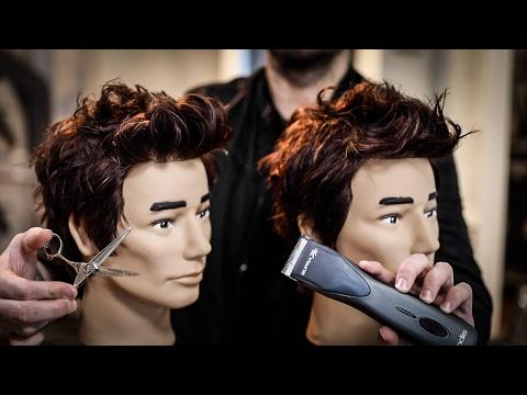 Grown Out Mens Haircut Tutorial - Clippers VS Scissors   MATT BECK VLOG 94