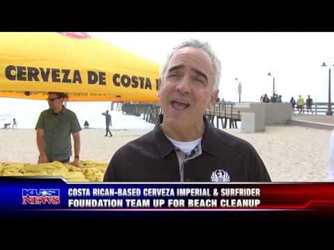KUSI News Features Imperial Beach Clean Up Event