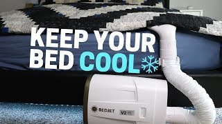 No More Sweating in Bed, EVER: BedJet v2 Review