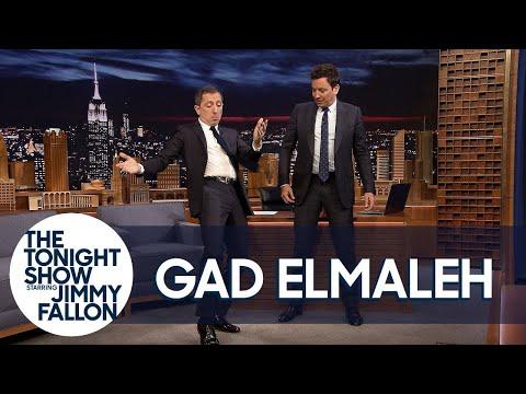 Gad Elmaleh Teaches Jimmy the Moroccan Hip Thrust