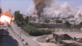 Best of Grad Missile Attacks - Launches/Explosions (Ukraine-Syria) 2014