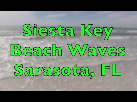 Siesta Key Beach Sarasota Fl Relaxing Wave Sounds