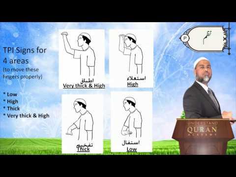 Arabic Letters - Urdu poem - Read Quran - the Easy Way
