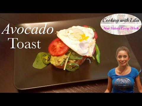 Avocado Toast - Super Fast Tasty Meal