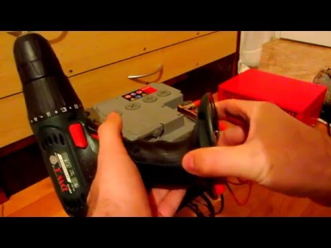 How to Run a Cordless Drill Off a Car Battery