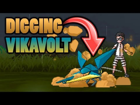 Can Vikavolt Be Hit By Earthquake When Using Dig In Pokemon Sun and Moon?