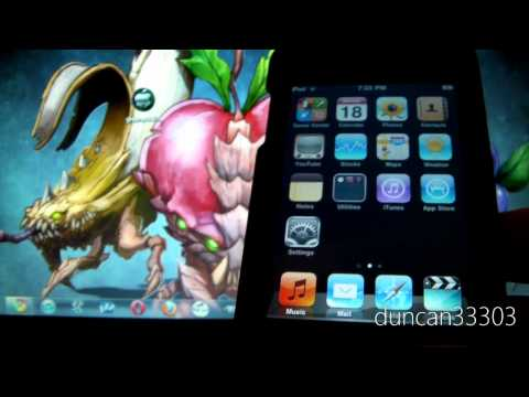 Jailbreak Your iPod touch 2G MB or MC Model on iOS 4.1 Using greenpois0n