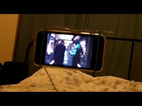 How to watch a movie on your phone in bed (without needing to hold your phone)
