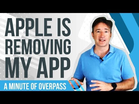Apple Is Removing My App - A Minute of Overpass - Experienced UK App developers