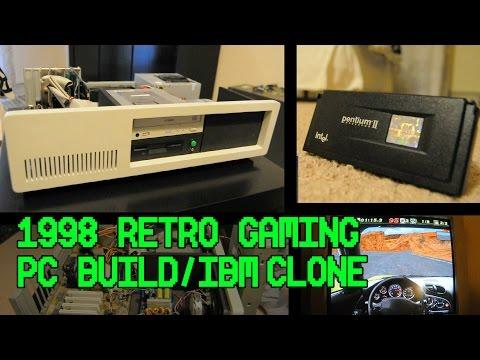1998 Retro Gaming PC In IBM 5150 Clone Case | Viper S550,Pentium II 350