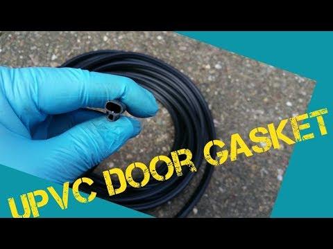 How To Replace UPVC Door Gasket.